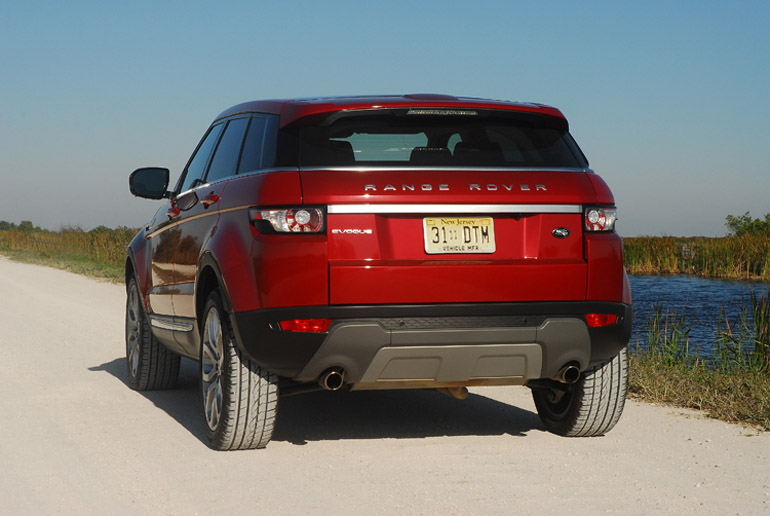 2013 Range Rover Evoque Beauty Rear LA Done Small