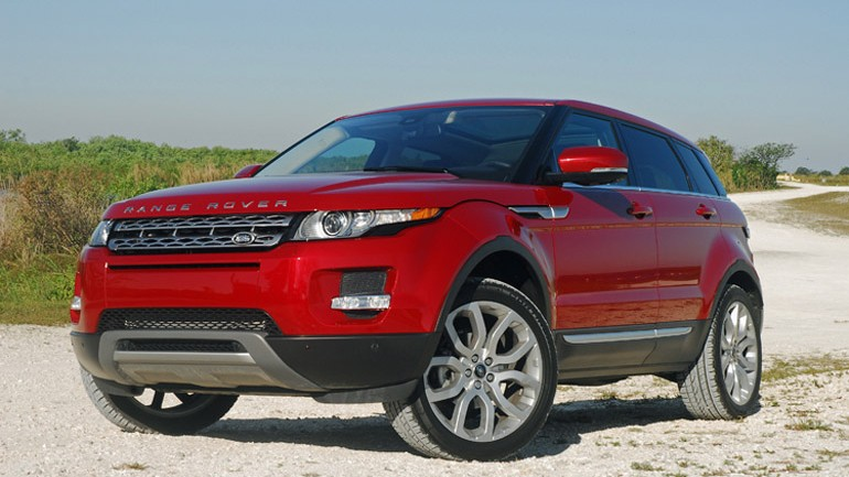 2013 Land Rover Range Rover Evoque AWD Prestige Review & Test Drive