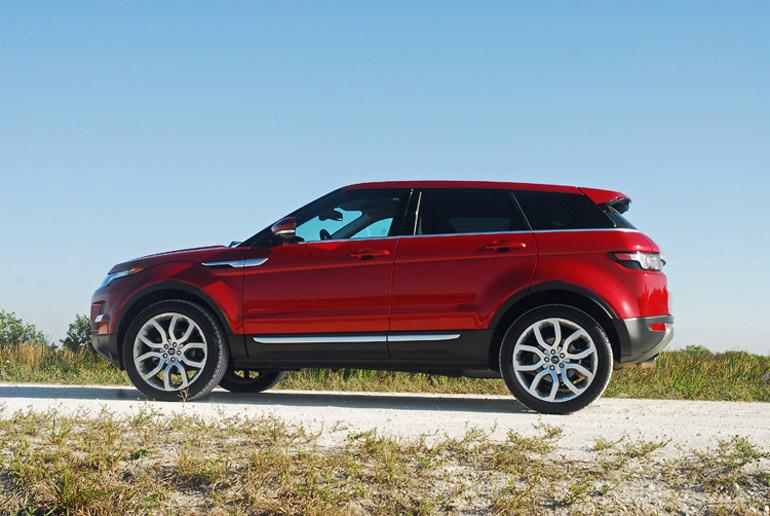2013 Range Rover Evoque Beauty Side LA Done Small