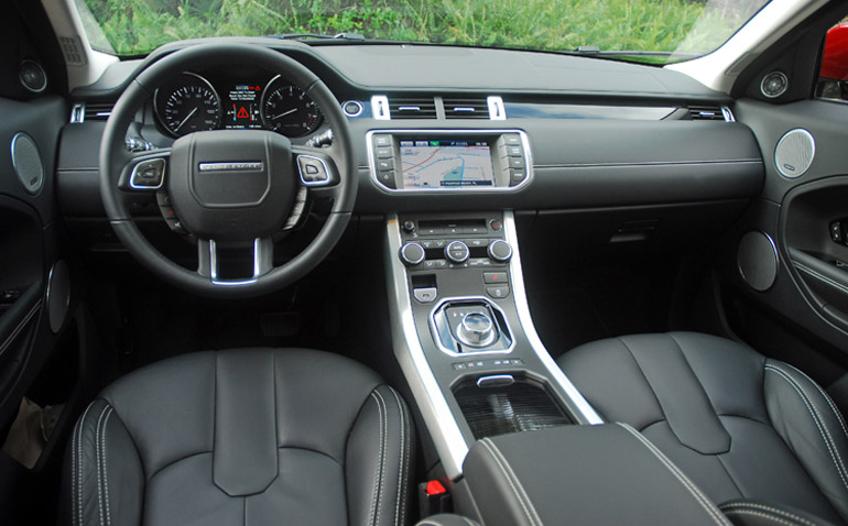 2013 Range Rover Evoque Dashboard Done Small