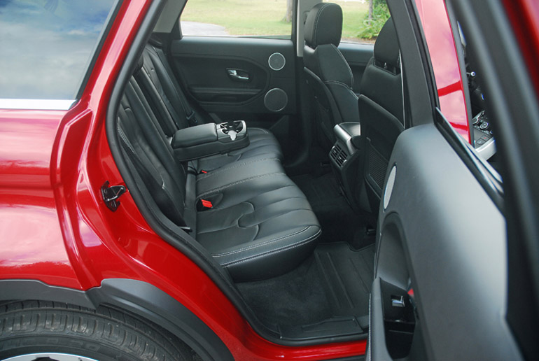 2013 Range Rover Evoque Rear Seats Done Small