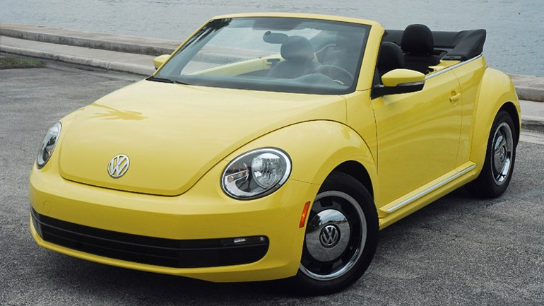 2013 Volkswagen Beetle Convertible Review & Test Drive