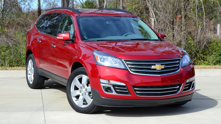 2013 Chevrolet Traverse LTZ FWD Review & Test Drive