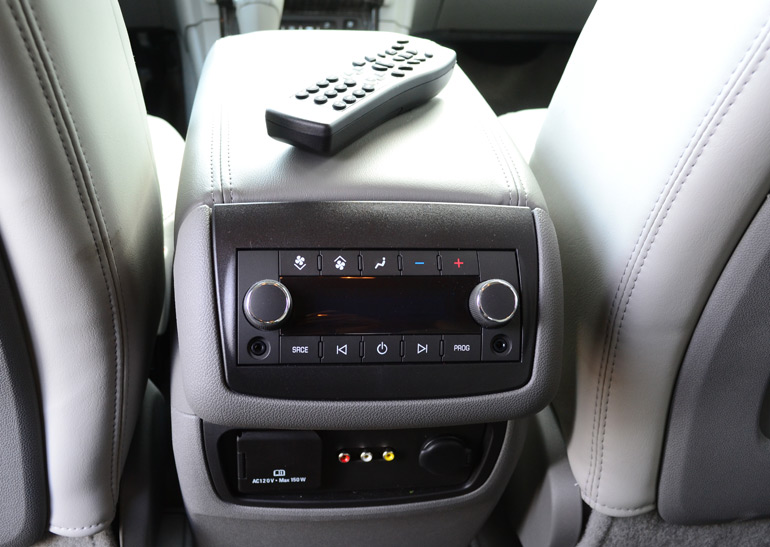2013 Chevrolet Traverse Rear Climate Controls