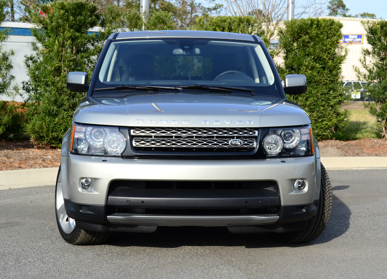 2013 land rover range rover sport supercharged front. Black Bedroom Furniture Sets. Home Design Ideas