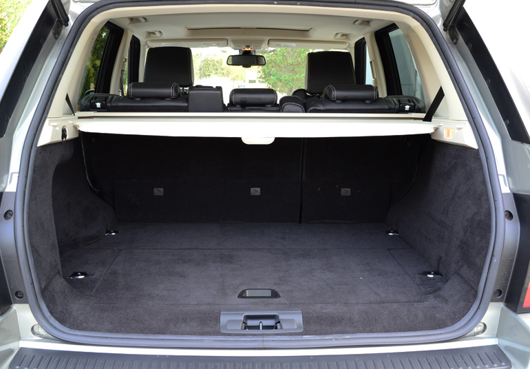 2013 Land Rover Range Rover Sport Supercharged Rear Cargo