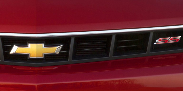 Chevy teases the 2014 Camaro SS - image: GM Corp