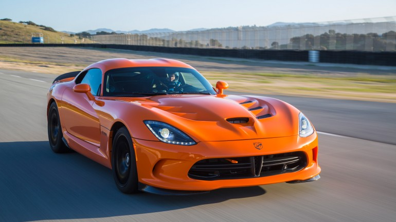 SRT Viper TA (Time Attack) Is Ralph Gilles' Answer to the ZR1: Video