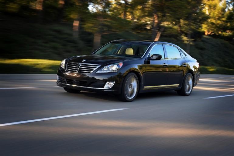 2014 Hyundai Equus - image: Hyundai Motor America