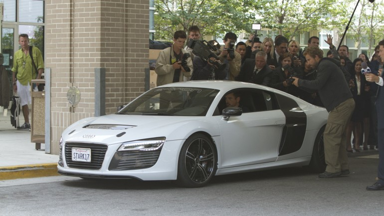 Audi Returns As A Co-Star In Iron Man 3: Video