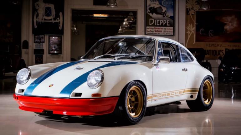 Porsche Builder Magnus Walker Revisits Jay Leno's Garage: Video