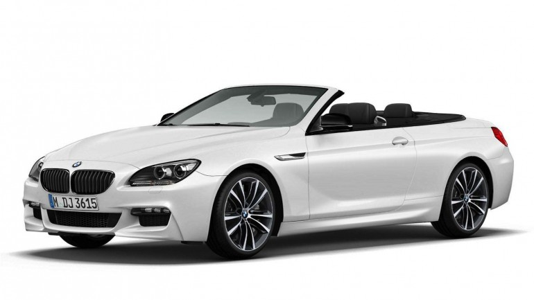 2014 BMW 6-Series Convertible Coming In Frozen White Edition