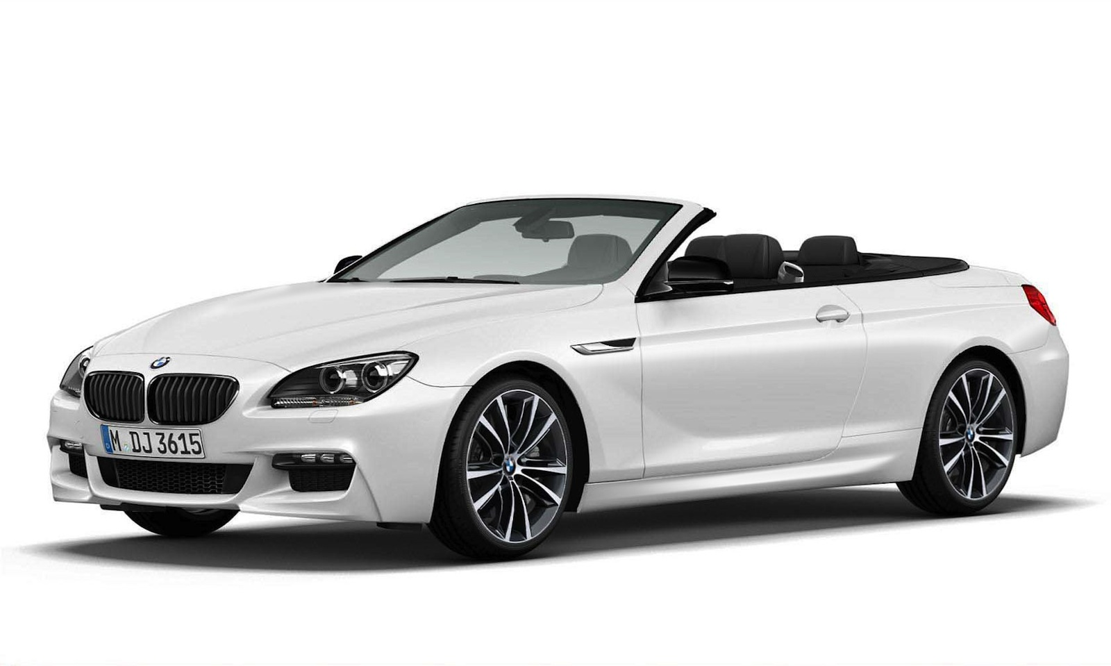 Coupe Series bmw 645 convertible 2014 BMW 6-Series Convertible Coming In Frozen White Edition