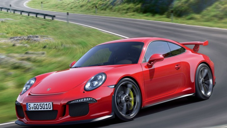 2014 Porsche 911 GT3 (991) Gets Official – Photos