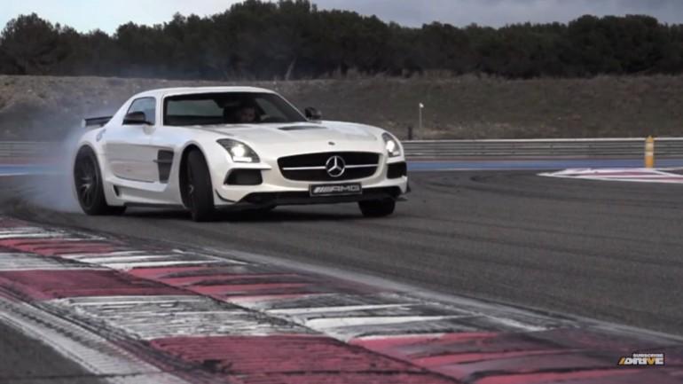Chris Harris Drives The SLS AMG Black Series: Video