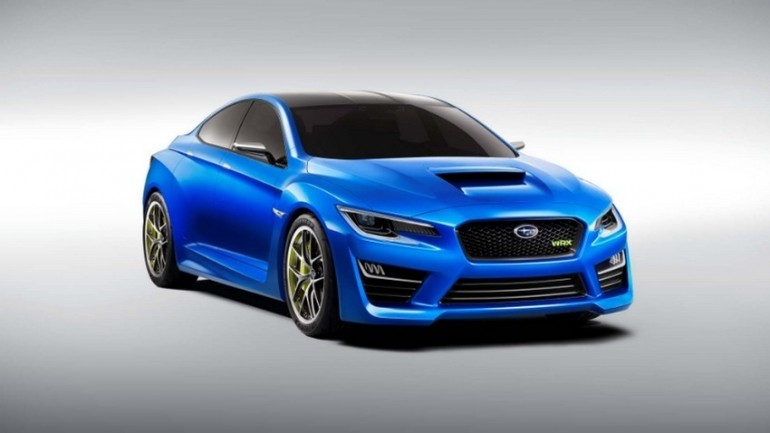 Subaru's Latest WRX Concept Leaked Ahead Of New York Reveal