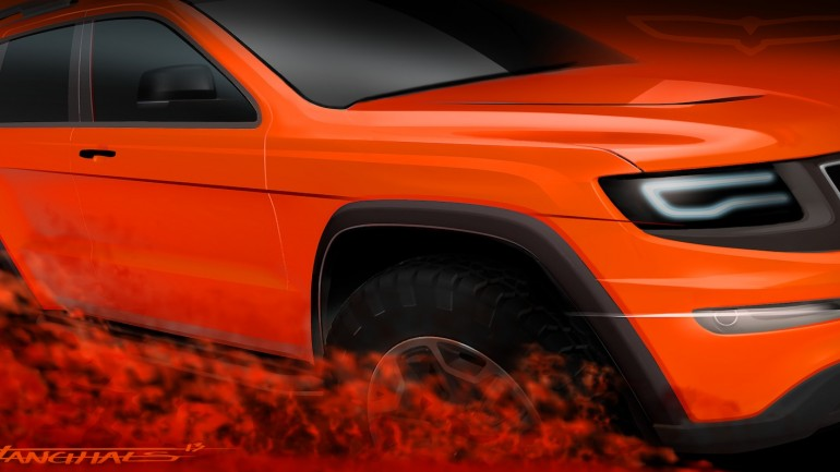Jeep Teases Two Concepts For The 2013 Moab Easter Jeep Safari