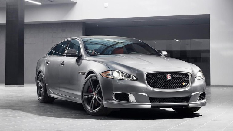 Jaguar XJR Previewed before New York Auto Show