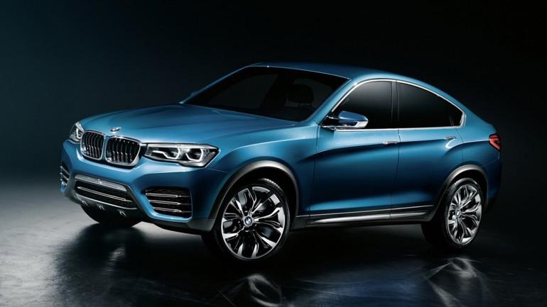 BMW X4 Concept Revealed