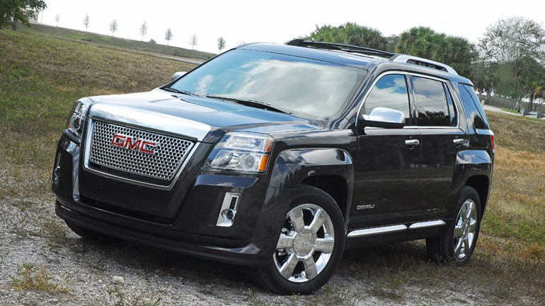 2013 GMC Terrain Denali AWD V6 Review & Test Drive
