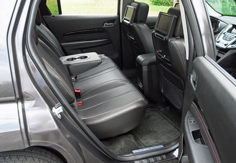 2013 GMC Terrain Denali AWD Rear Seats Done Small