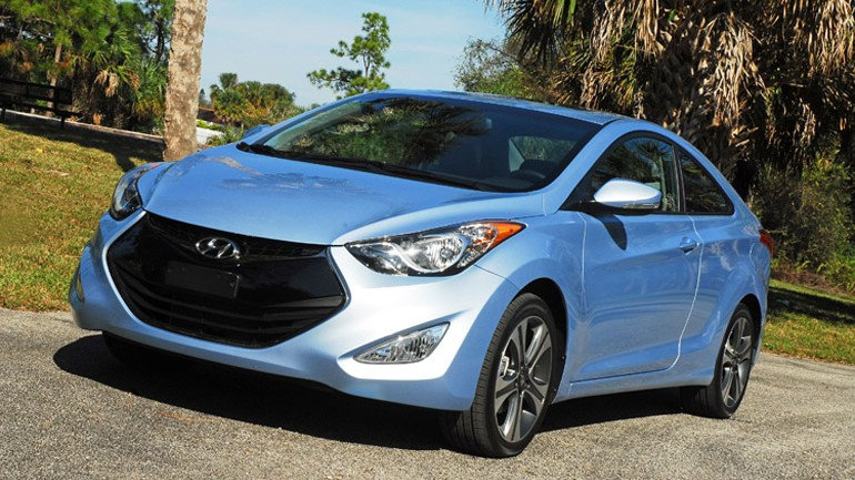 2013 Hyundai Elantra SE Coupe Review & Test Drive