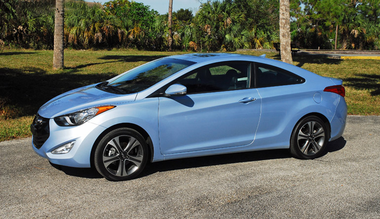 Charming 2013 Hyundai Elantra Coupe Beauty Side Done Bet Small