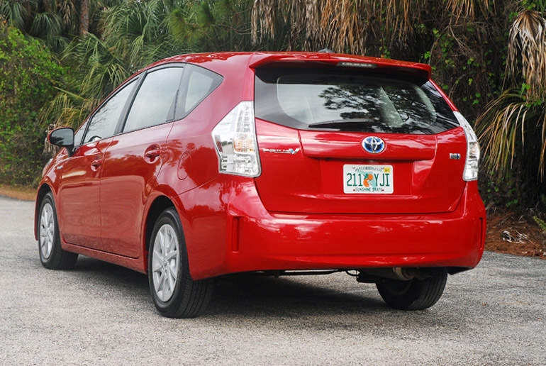 2013 Toyota Prius V Beauty Rear Done Small