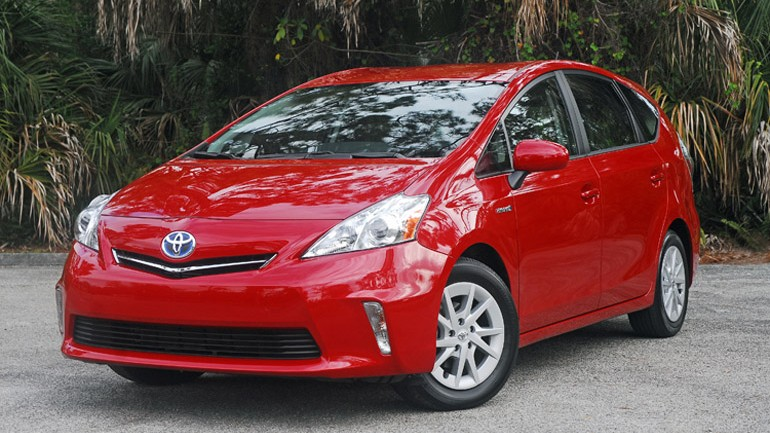 2013 Toyota Prius V Hybrid Review & Test Drive