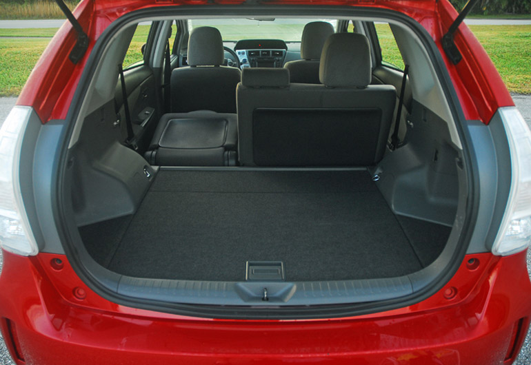 2013 Toyota Prius V Cargo Hold Done Small
