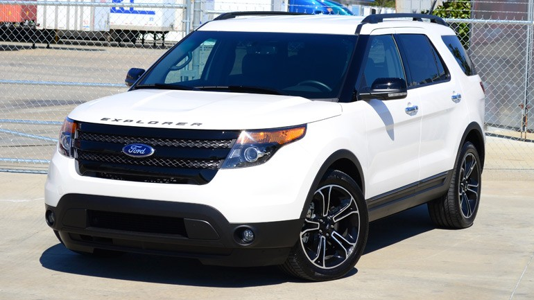 2013 Ford Explorer Sport Review & Test Drive
