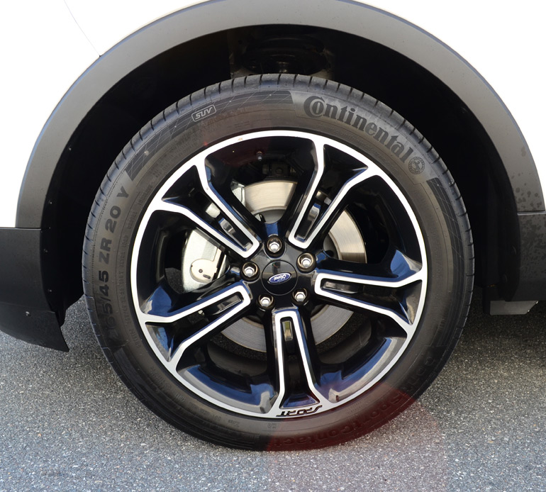 Stock 20 Wheels And Tires For 2013 Ford Explorer Xlt