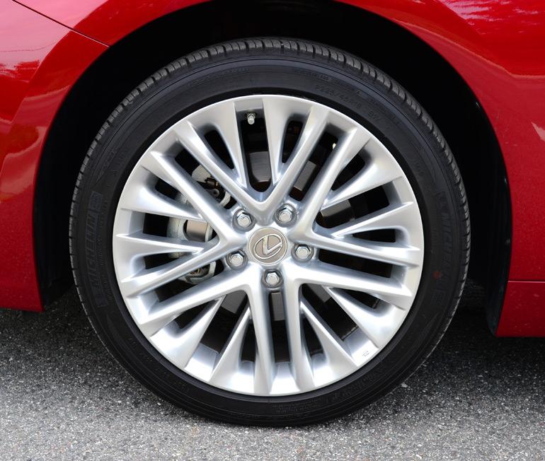 Lexus Es 350 Tires: 2013 Lexus ES350 Review & Test Drive