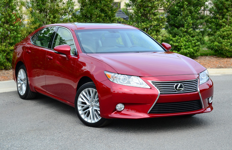 2013 lexus es350 review test drive. Black Bedroom Furniture Sets. Home Design Ideas