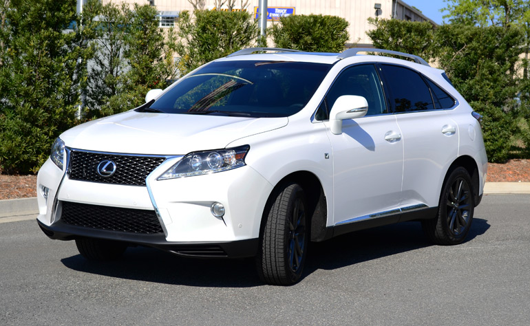 2013 lexus rx350 f sport review test drive. Black Bedroom Furniture Sets. Home Design Ideas