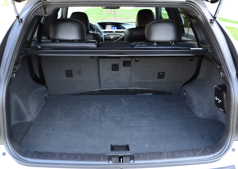 2013 lexus rx 350 f sport rear cargo area short. Black Bedroom Furniture Sets. Home Design Ideas