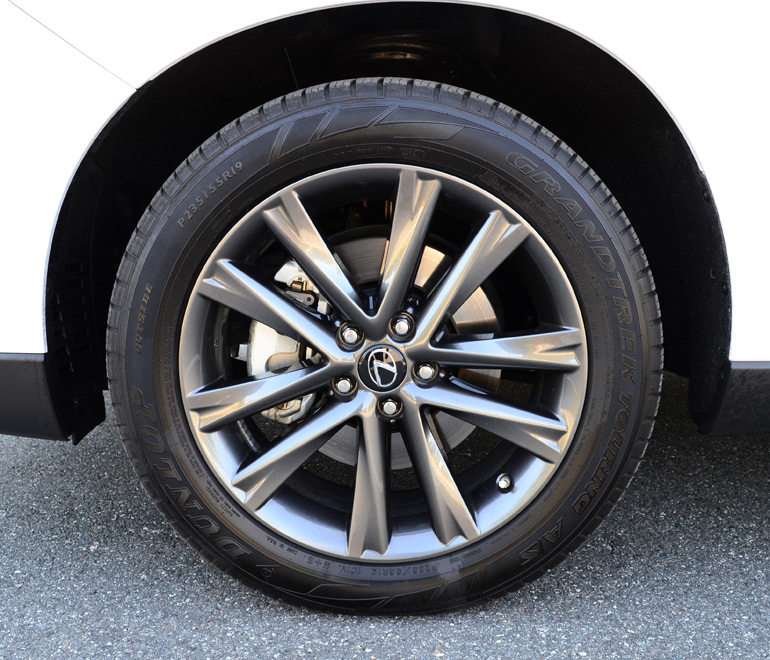 2013-lexus-rx350-f-sport-wheel-tire