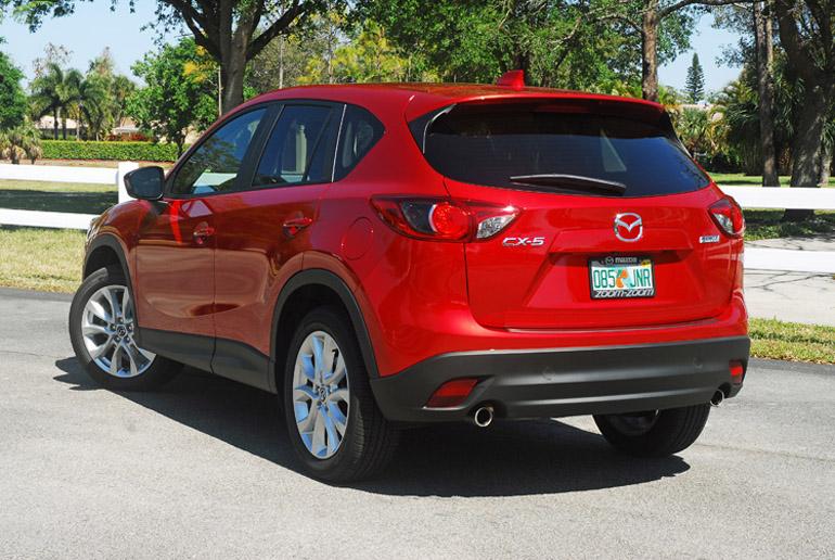 2014 Mazda CX5 Beauty Rear LA Done Small