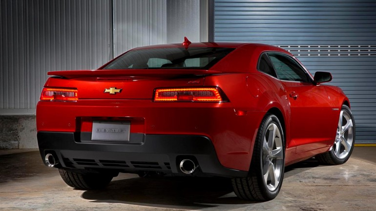 2014 Chevrolet Camaro Updated Taillights