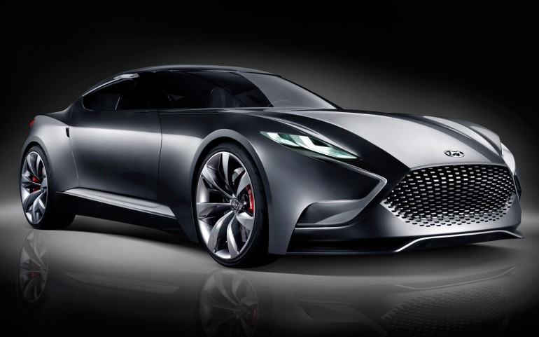 Hyundai-HND-9-Coupe-concept-front-three-quarters-view