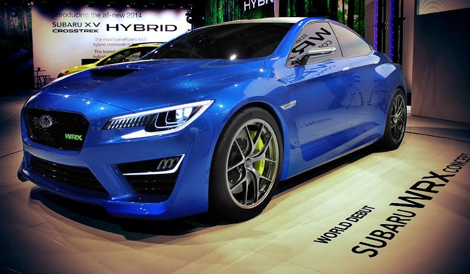 Closer Look at the Subaru WRX Concept