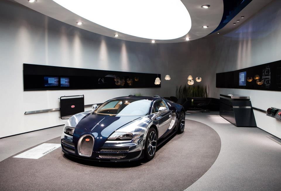 Bugatti Veyron Grand Sport Vitesse Shines Bright At Shanghai Motor Show