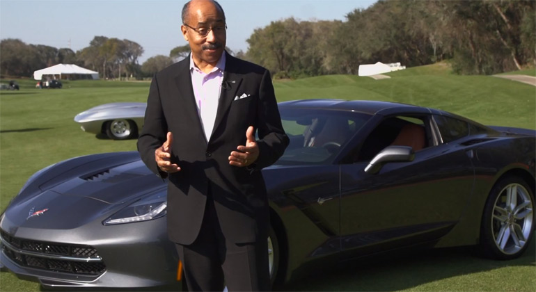 Amelia Island 2013 Ed Welburn Interview in Latest Jay Leno's Garage Episode
