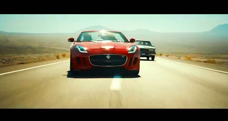 Jaguar F-Type Shines as Star in Ridley Scott 'Desire' Short Film