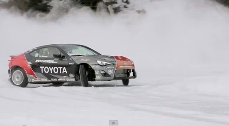 Snow Drifting the Toyota GT 86 with Fredric Aasbo