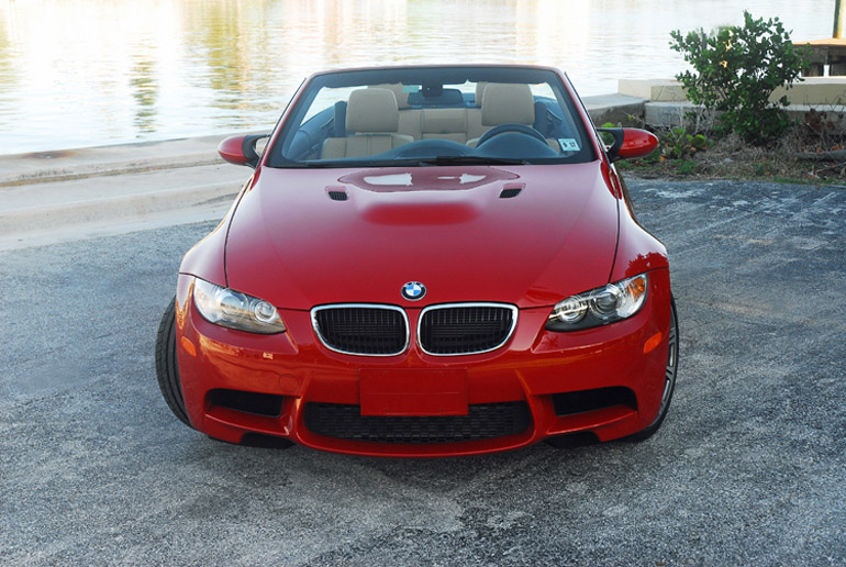 2013 BMW M3 Convertible Beauty Headon Done Small