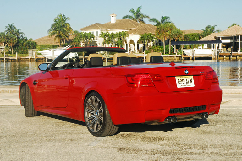 2013 BMW M3 Convertible Beauty Rear Side Done Small