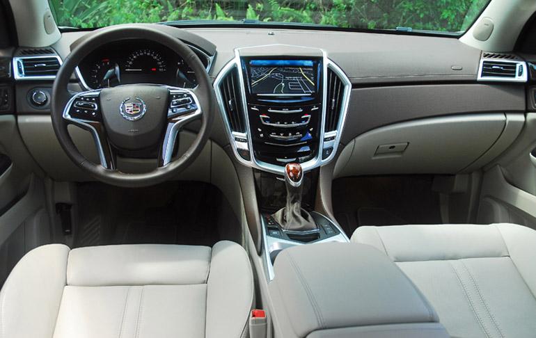 2013 Cadillac SRX AWD Dashboard Done Small