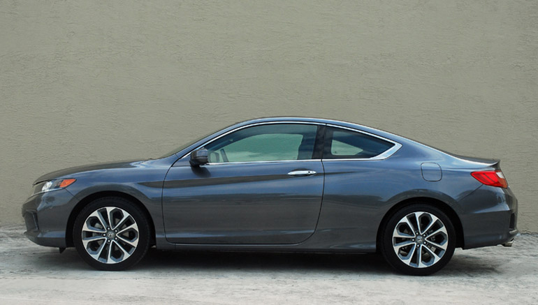 2013 Honda Accord V6 Coupe Beauty Side Done Small