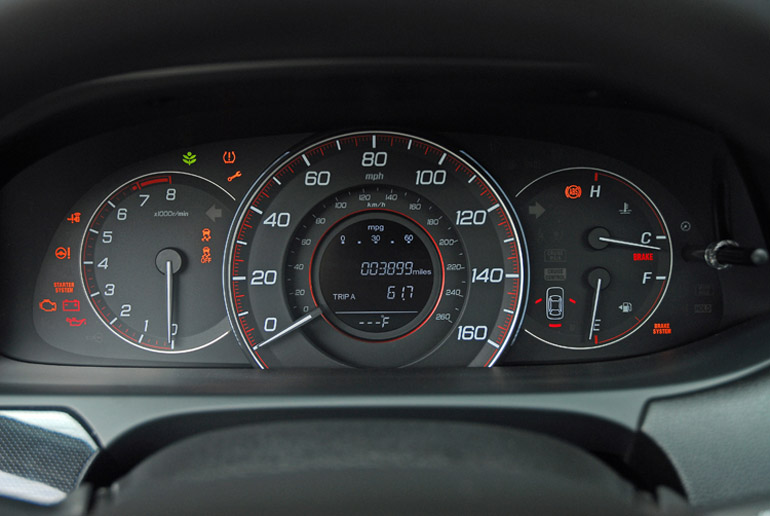 2013 Honda Accord V6 Coupe Cluster Done Small